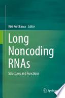Long Noncoding Rnas book