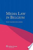 Media Law in Belgium