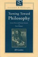 Turning toward philosophy