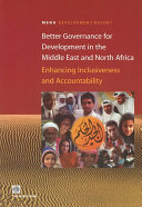 Better Governance for Development in the Middle East and North Africa