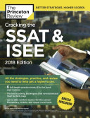 Cracking the SSAT and ISEE  2018 Edition