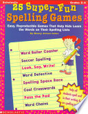 25 Super Fun Spelling Games