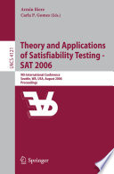 Theory and Applications of Satisfiability Testing   SAT 2006