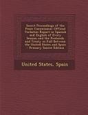 Secret Proceedings of the Peace Commission