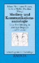Medien- und Kommunikationssoziologie