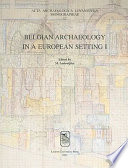 illustration du livre Belgian Archaeology in a European Setting