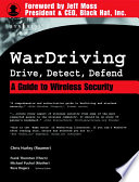 Wardriving Drive Detect Defend