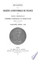 Bulletin de la Soci  t   astronomique de France et revue mensuelle d astronomie  de m  t  orologie et de physique du globe