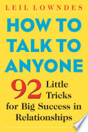 How to Talk to Anyone Book Cover