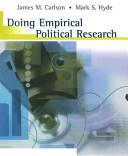 Doing Empirical Political Research