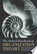 The Oxford Handbook of Organization Theory