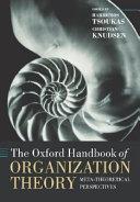 The Oxford Handbook of Organization Theory