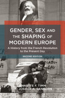 download ebook gender, sex and the shaping of modern europe pdf epub