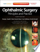 Ophthalmic Surgery  Principles and Practice