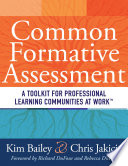 Common Formative Assessment