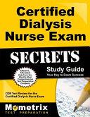 Certified Dialysis Nurse Exam