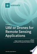 UAV or Drones for Remote Sensing Applications Pdf/ePub eBook