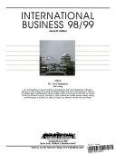 International Business  98 99