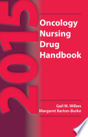 2015 Oncology Nursing Drug Handbook