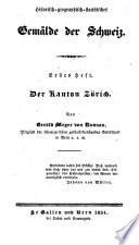Der Kanton Zürich