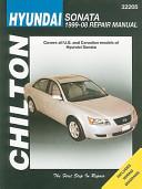 Chilton s Hyundai Sonata  1999 08 Repair Manual