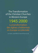 illustration du livre The Transformation of the Christian Churches in Western Europe