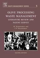 Olive Processing Waste Management Book PDF