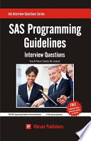 SAS Programming Guidelines Interview Questions You ll Most Likely Be Asked
