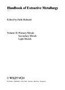 Handbook Of Extractive Metallurgy book