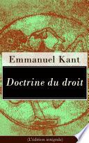 Doctrine Du Droit L Dition Int Grale