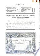 Rivista delle biblioteche e degli archivi periodico di biblioteconomia e di bibliografia di paleografia e di archivistica