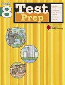 Test Prep  Grade 8  Flash Kids Harcourt Family Learning