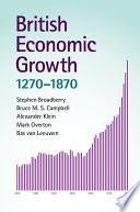 British Economic Growth  1270   1870