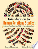 INTRODUCTION TO HUMAN RELATIONS STUDIES