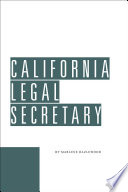 California Legal Secretary