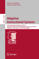 Adaptive Instructional Systems Book