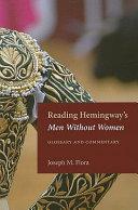 Reading Hemingway s Men Without Women