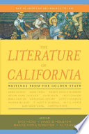 The Literature of California  Volume 1
