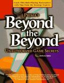 Beyond the Beyond