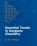 Essential Trends In Inorganic Chemistry Edition En Anglais