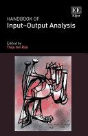 Handbook of Input–Output Analysis