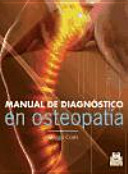 Book Manual de diagnóstico en osteopatía