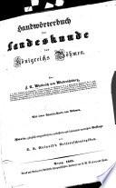 Handwörterbuch der Landeskunde des Königreichs Böhmen