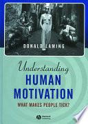 Understanding Human Motivation