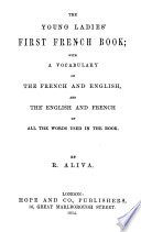 The young ladies' first French book