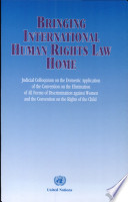 Bringing International Human Rights Law Home
