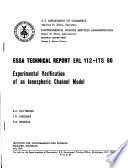 ESSA Technical Report ERL-ITS.