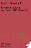 Elements of Social and Political Philosophy