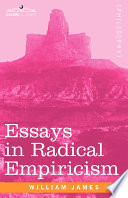 Ebook Essays in Radical Empiricism Epub William James Apps Read Mobile
