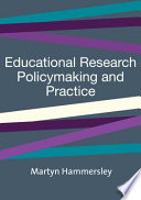 Educational Research  Policymaking and Practice
